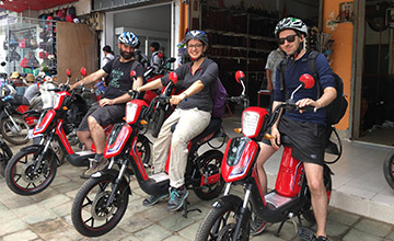 Drive Friendly with Bayon Electric Bike Rental