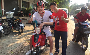 Siem Reap Cycling with Electric Bike Rental