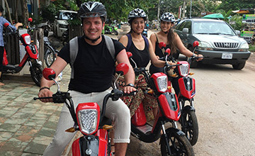 Group Electric Bike Tour